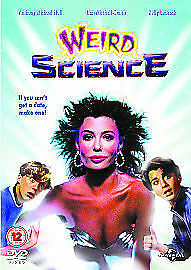 WEIRD SCIENCE DVD John Hughes Film wierd Original Movie Brand New Sealed UK R2 x