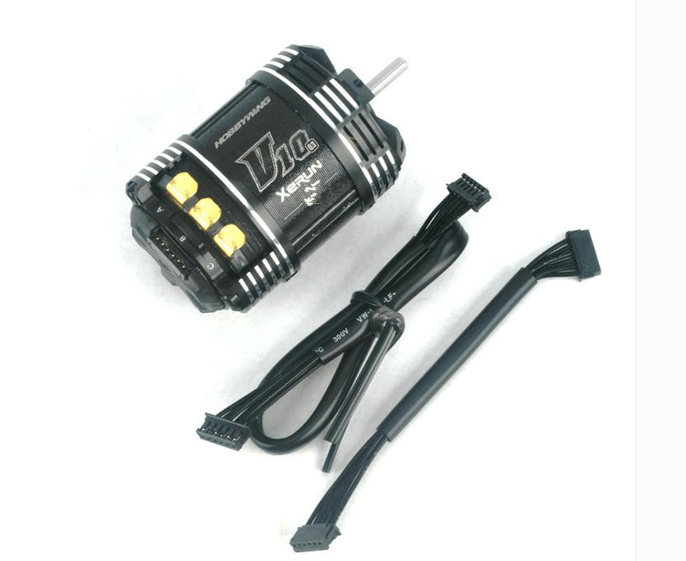 Hobbywing 30401104 Xecorrere V10 G3 Senseless brushless 540 Motor (17.5T)   acquista la qualità autentica al 100%