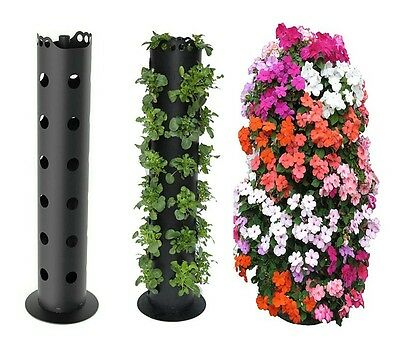 Vertical Gardening Strawberry Planter/Herb/Tomato/Flower Tower Freestanding