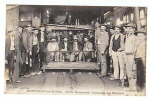 CPA-SAONE-ET-LOIRE-Montceau-les-Mines-puits-Maugrand-mineurs