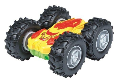 Dickie 203751000 - Crazy Flippy - Überschlagfahrzeug Mit Friktionsantrieb - Gelb