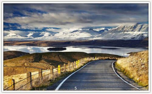 Bildheizung Thermostat TÜV 5.Southern Alps,New Zeeland Infrarotheizung 130W