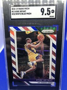 2018-Panini-Prizm-Red-White-And-Blue-Insert-Kobe-Bryant-SGC-9-5-Mint-Plus