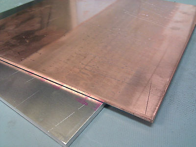 1pcs 99.9% Pure Copper Cu Metal Sheet Plate 2 x 100 x 400 mm #E3-21A2