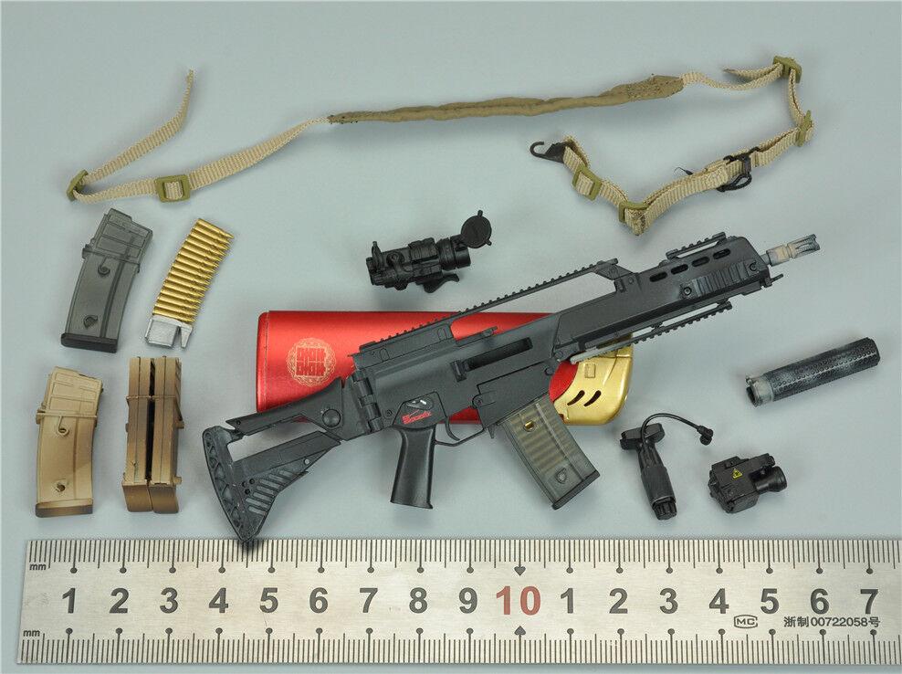 G36K Assault Rifle Set for SoldierStory SS104 Kommando Spezialkrafte Marine VBSS