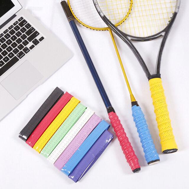 Anti-slip Absorb Sweat Racket Tape Handle Grip Tennis Badminton Squash Band  TEU