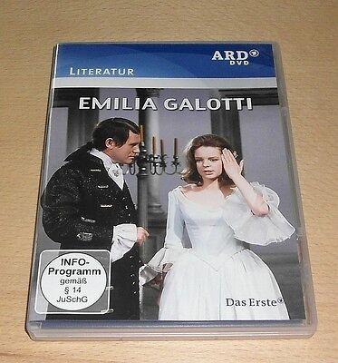 EMILIA GALOTTI (1970) mit Sabine Sinjen (Die Försterchristel) - ARD DVD deutsch