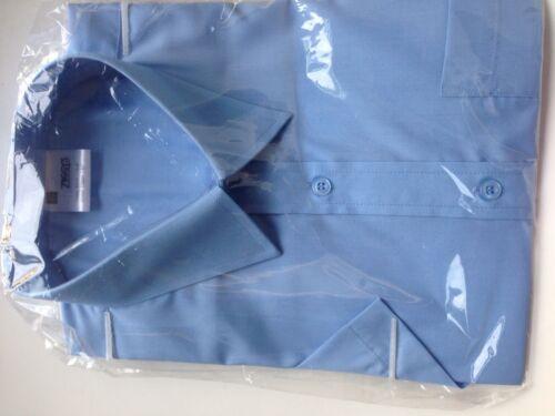 ZIGGYS School shirts Bleu Entretien Facile Non-Fer à manches courtes de dégagement
