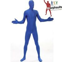Officially Licensed Morphsuit Blue Fancy Dress Bodysuit M L Xl