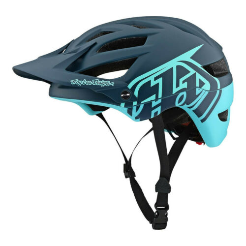2019 TLD Troy Lee Designs A1 Classic Mips Mountain Bike Helmet Dark Gray//Aqua