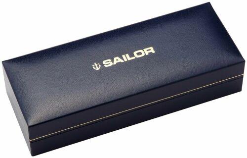 Sailor Professional Gear Silver Fountain Pen Black Medium Nib 11-2037-420
