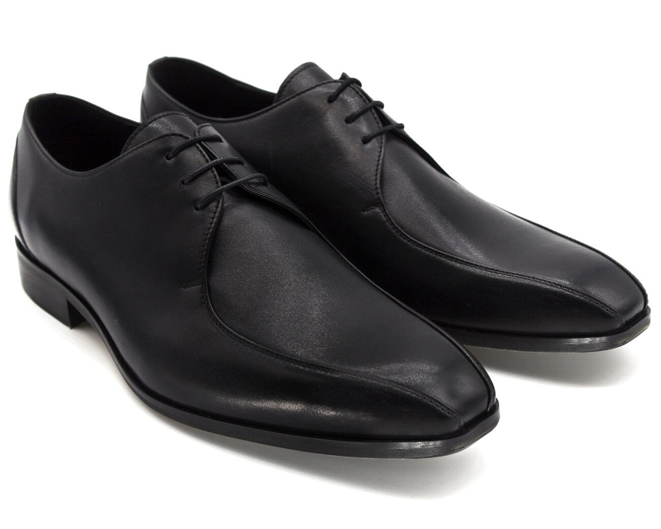 6 UK UK UK 8 NEW MENS schwarz REAL LEATHER SMART schuhe FORMAL WEDDING OCCASION EU 42 2f2c12