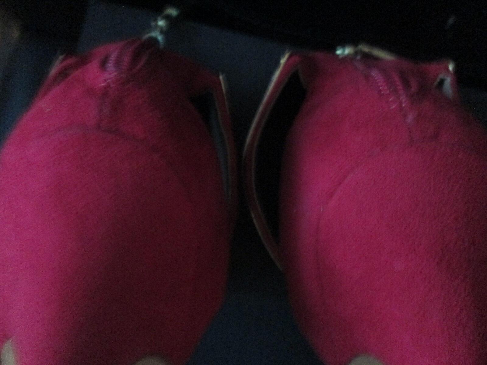 Bebe pink fushia Sandales design ankle cuff sparkle  design Sandales  7 very sexy 3f4004
