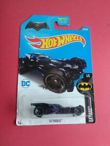 HOT WHEELS BATMAN - BATMOBILE - LIMITED WARRANTY 1/5 - 2015 - LONGUE - R 6685