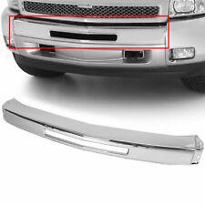 Chrome Steel Front Bumper Impact Face Bar For 2007 2013 Chevy Silverado 1500 Fits 2013 Silverado 1500