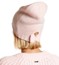 item 2 Kate Spade New York Hat Gathered Bow Beanie Pastry Pink NEW -Kate  Spade New York Hat Gathered Bow Beanie Pastry Pink NEW 64538a8e959