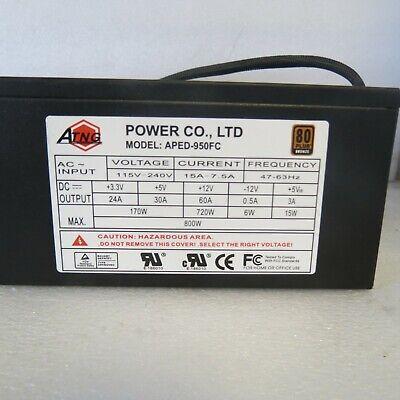 ATNG 600W 2U Power Supply 80 Gold