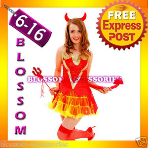G56-Devil-Ladies-Horror-Fancy-Dress-Halloween-Costume-Outfit-Horns-Pitch-Fork