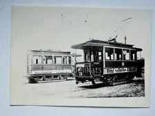 HALLE Germania TRAM tramway Straßenbahn treno vecchia foto 2