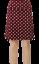 King-Louie-New-Skirt-Border-Skirt-Party-Polka-Skirt-Plum-Jungle-Dragonfly
