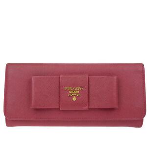 72d20db01831 ... coupon code image is loading authentic prada milano logos long bifold wallet  purse b8e8f 1c708