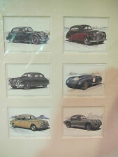 Golden Ear Collector Cards - Jaguar Classics (in Passpartout)