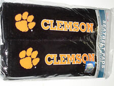NCAA 56711 Clemson Universal Fit Shoulder Seatbelt Pads - (2 Pack)