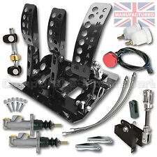 BMW E30 Remote Hydraulic Floor Mounted CABLE PEDAL BOX KIT+LINES CMB6051-CAB-KIT
