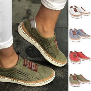 Damen Atmungsaktiv Slippers Turnschuhe Laufschuhe Sport Sneaker Wander Schuhe