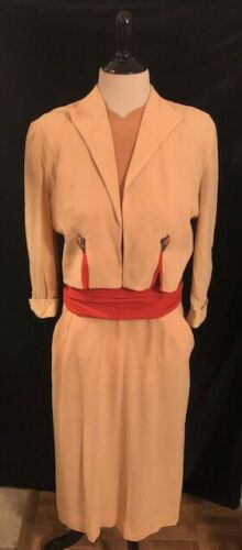 1940's Two Piece Jacket and Dress set