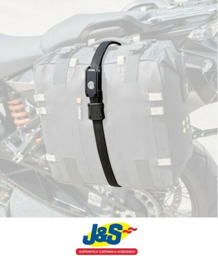 Kriega Steelcore Security Strap Black Motorcycle Luggage Securing Straps 4.5 ft