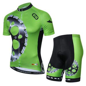 79dae61db Men s Cycling Jersey Bib Shorts Set Breathable Tight Bike Clothing ...