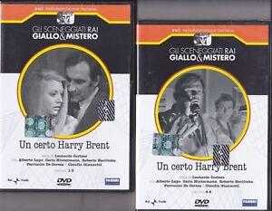 2-Dvd-Sceneggiati-Rai-UN-CERTO-HARRY-BRENT-con-Alberto-Lupo-completa-1970