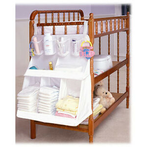 Playard Organizer Nursery Hanging Organizer for Baby Bed Mat Diaper Organize