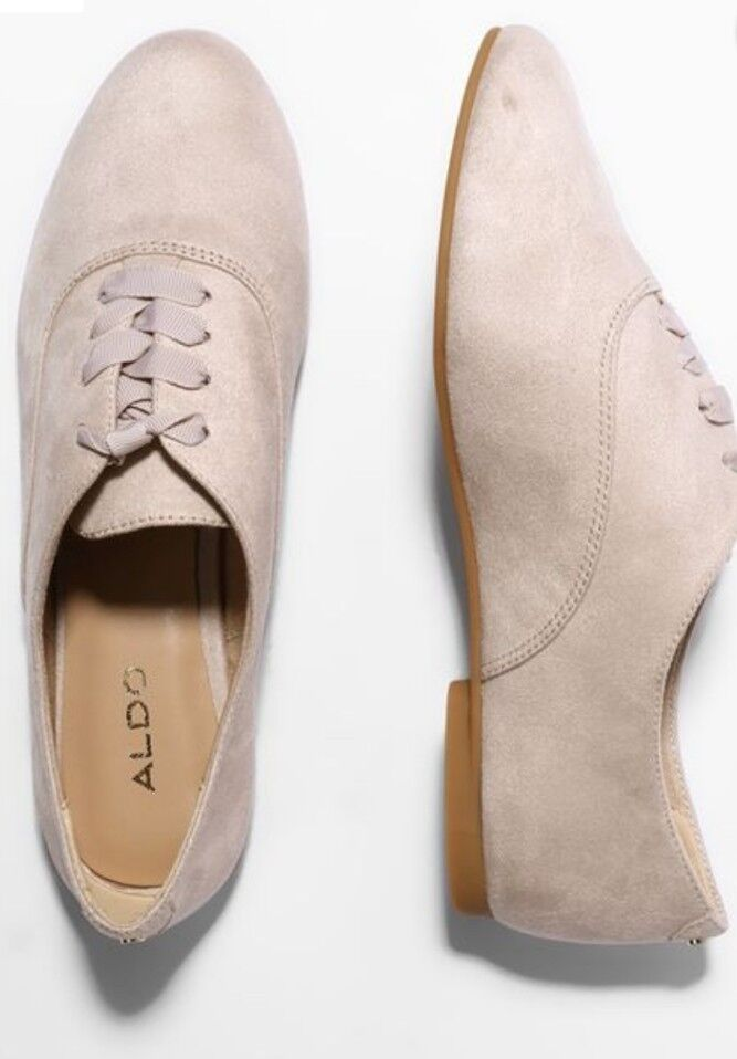 Aldo Womens Leganiel Lace Ups Casual shoes Bone Size