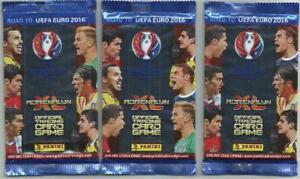 Panini Adrenalyn XL Road to UEFA EURO 2016 France Booster pack x 3 - 3 Bustine