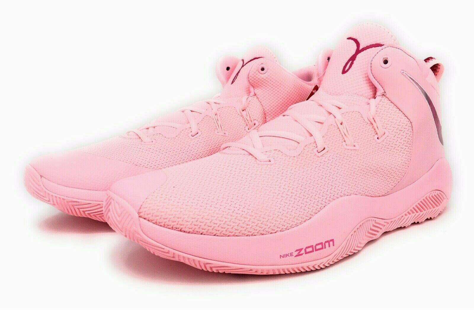 Nike Zoom Rev II TB PROMO KAY YOW Breast Cancer Awareness Fund Pink Mens Size 15