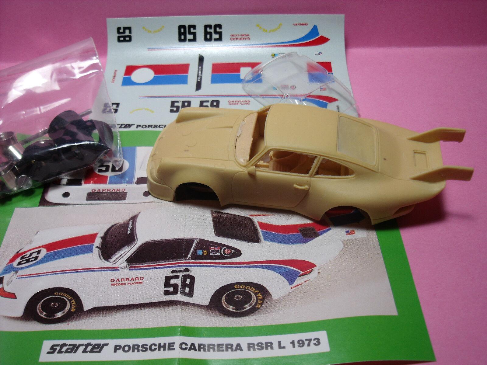 PORSCHE   voitureRERA  RSR  LH  GARRARD  1973    KIT  STARTER   NO  SPARK  haute qualité