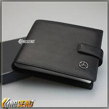 new Mercedes Benz PU Leather CD Case Car DVD Holder Men Disc Album Disk Storage