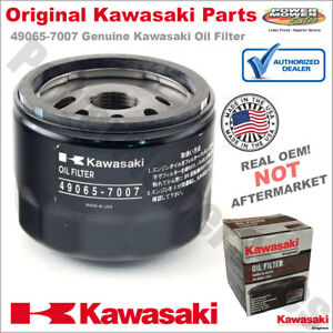 Details about Genuine Kawasaki Oil Filter 49065-7007 Fits 22-24 HP FR / FS  / FX Engines
