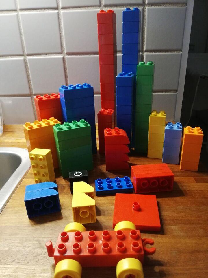Lego Duplo, Duplo klodser