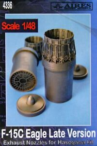 Aires-1-48-F-15C-Eagle-Late-Version-Exhaust-Nozzles-for-Hasegawa-kit-4336