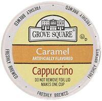 Grove Square Single Serve Caramel Cappucino Single Serve Cup 24 Ct For Keurig Br