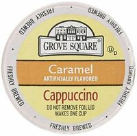 Grove Square Single Serve Caramel Cappucino Single Serve Cup 24 Ct For Keurig Br