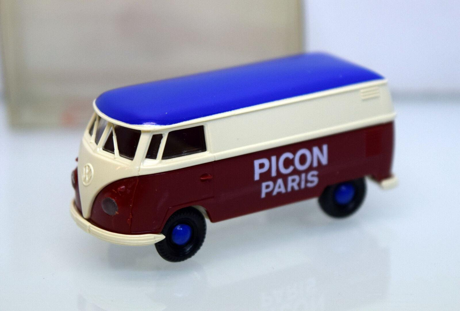 Brekina H0 SoMo VW T1 Kasten Picon Paris