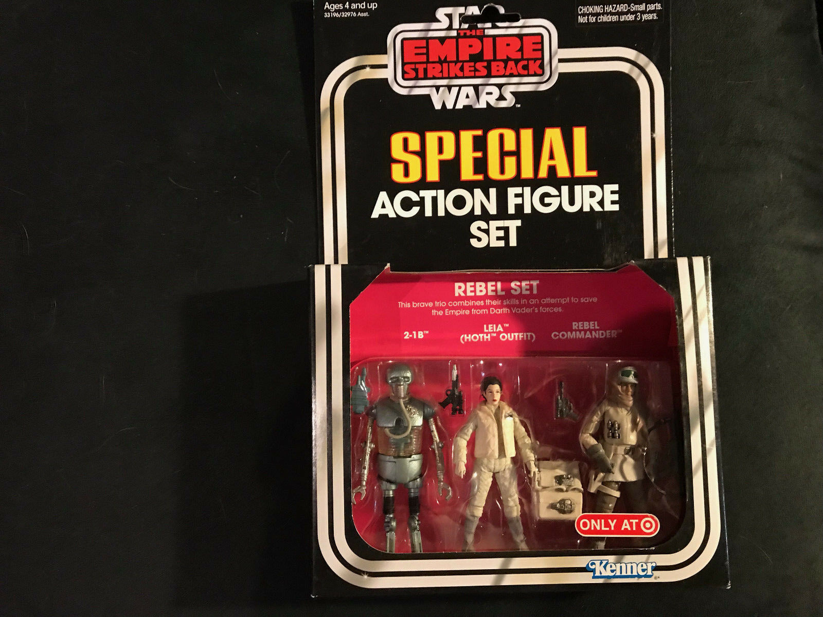 Star Wars Vintage Collection Special Action Figure Rebel Set Target Exclusive