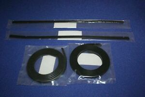 PORSCHE-964-WIDE-BODY-965-TURBO-SIDE-SKIRT-SEAL-KIT-NEW-OEM