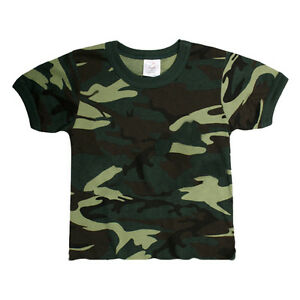 Infant-Army-Green-Camo-T-Shirt-CAMOFLAUGE-DRESS-COSTUME-PLAY
