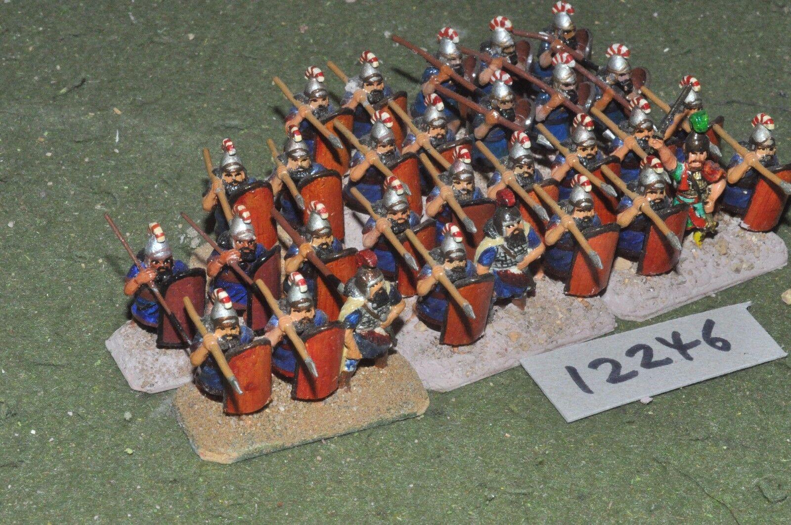 25mm bíblico Asiria-Lanceros 30 figuras-INF (12246)