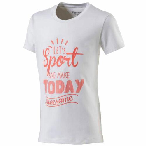 Energetics Gandalfa 3 jrs Sportshirt T-Shirt kurzarm Kinder white//red light